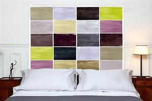 Tissu Pour Tete De Lit : decoration tete de lit en tissu visuel 8 ~ Teatrodelosmanantiales.com Idées de Décoration