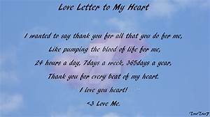 love letter to my heart by treetree7 on deviantart With love letter within heart