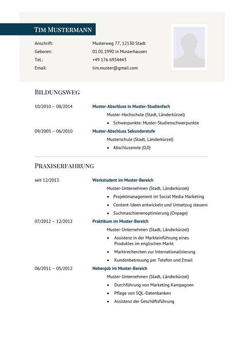 Lebenslauf Unterlagen by Lebenslauf Muster Vorlage 29 Manager 1 Resume D