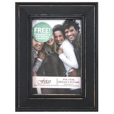 Fetco Home Decor Company Profile by Fetco Home D 233 Cor Longwood Picture Frame In Rustic Woods 4