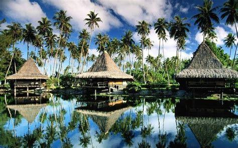 Prefab Prefabricated Bali Bungalow , Tahiti Overwater