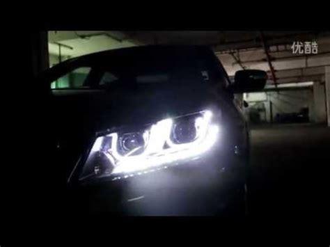 honda accord angel eye headlight youtube
