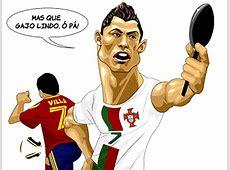 Eliminado da Copa, Cristiano Ronaldo é alvo de piadas na