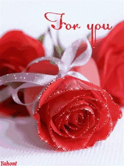 Flowers Animated Heart Sweetheart Lovethispic Roses Morning