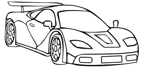 Koenigsegg Race Car Sport Coloring Page