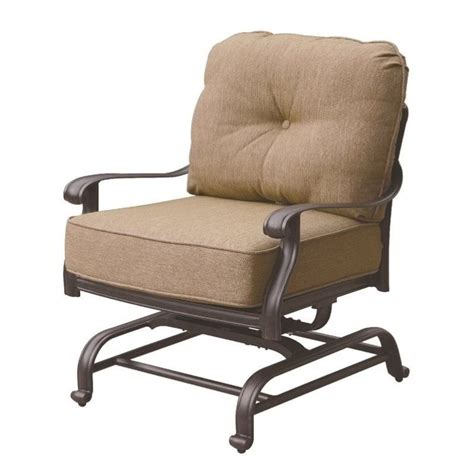 darlee elisabeth patio rocking chair in antique bronze