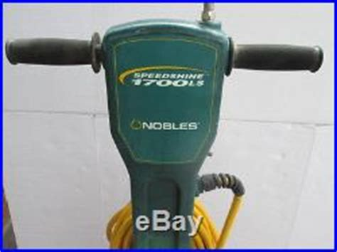 electric floor ls nobles speedshine floor polisher 1700ls model 608235