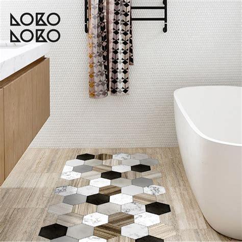 azulejos hexagonales de ceramica  madera vinilo  suelos