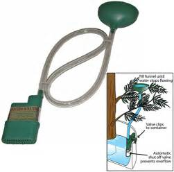 automatic christmas tree watering systems