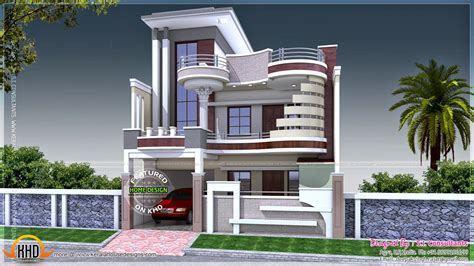 Home Design 80 Gaj : Kerala Home Design And Floor Plans