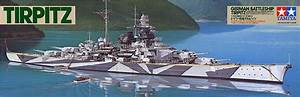 Tamiya 1  350 Tirpitz German Battleship  78015  English