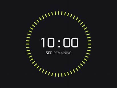 Countdown App Dribbble Ghislain Digital Marketing Web