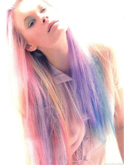 Pastel Colored Hair Claireverity