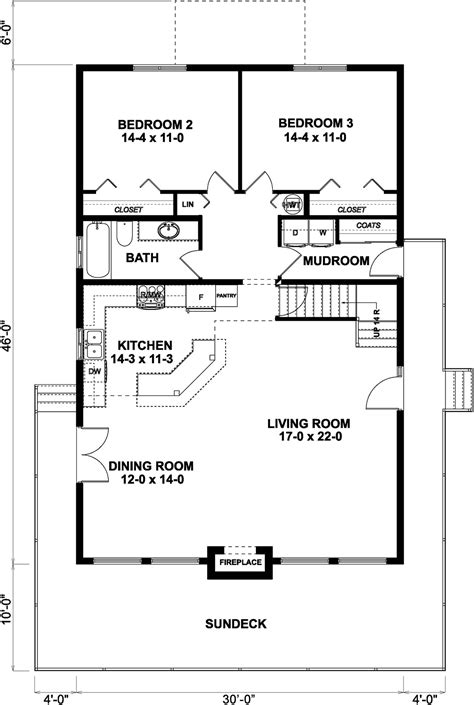 house plan  contemporary style   sq ft  bed  bath