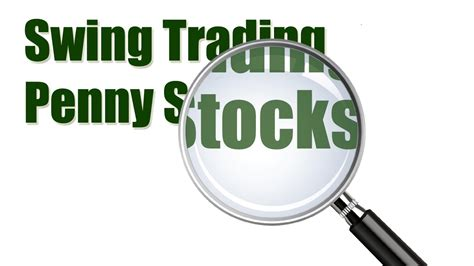 screening   penny stocks  swing trade youtube