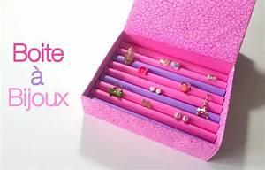 Boite A Bijoux : diy boite bijoux en carton youtube ~ Teatrodelosmanantiales.com Idées de Décoration