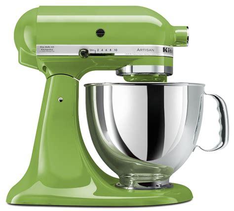 mint green kitchen aid kitchenaid apple green 5 quart artisan series stand mixer 7522