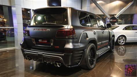 Lexus Lx 570 Limited Edition Invader Body Kit 2013
