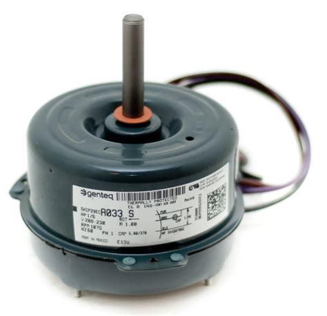 ac condenser fan motor replacement condenser fan motor b13400252s goodman janitrol 1 6 hp 1