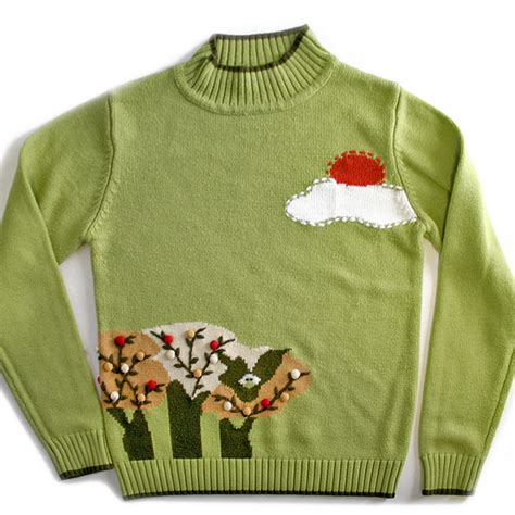 eagle sweater eagle in a tree fried egg sweater the