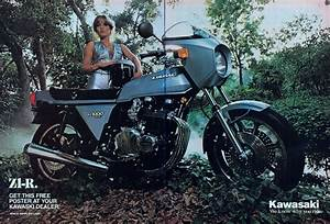 Racing Caf U00e8  Vintage Brochures  Kawasaki Z1