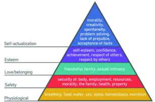 Maslow Theory of Human Needs
