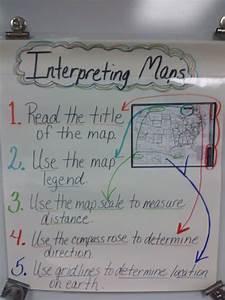 U0026quot Interpreting Maps U0026quot  Anchor Chart