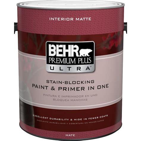 Behr Premium Plus Ultra 1 Gal Ultra Pure White Matte