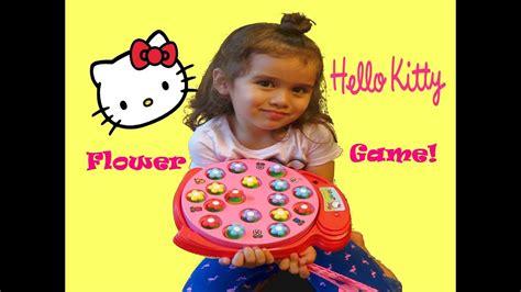 Hello Kitty Let's Pick Flowers Family Fun Game