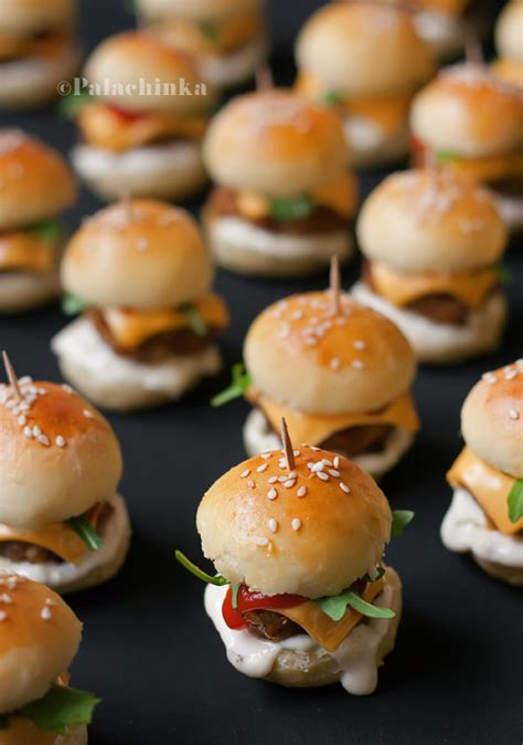 mini canape ideas mini burgers on canapes turkey burgers and