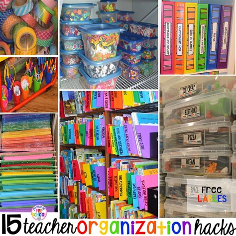 15 classroom organization hacks pocket of preschool 527 | Slide3 2