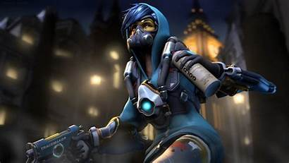 Overwatch Reaper 4k Tracer Midnight Wallpapers Ana
