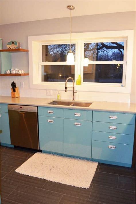 sam   great experience  powder coating  vintage steel kitchen cabinets retro renovation