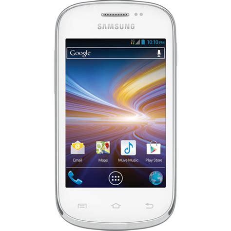samsung galaxy discover white android smart phone cricket