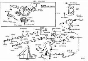 Toyota T100 Exhaust System Diagram