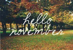 everyday a hello november