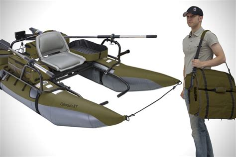 Portable Fishing Boat Seats by Portable Pontoon Boats By Classic Accessories Hiconsumption