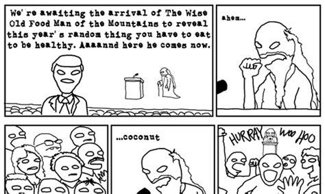 Ubertool Comics Finds Source Behind Yearly Healthfood Fads