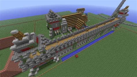Age Of Empires Styled Castle Minecraft Project