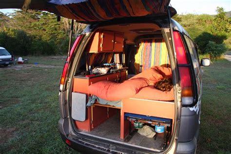 Minivan/suv Camping