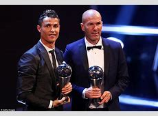 Cristiano Ronaldo wins FIFA's The Best men's player award
