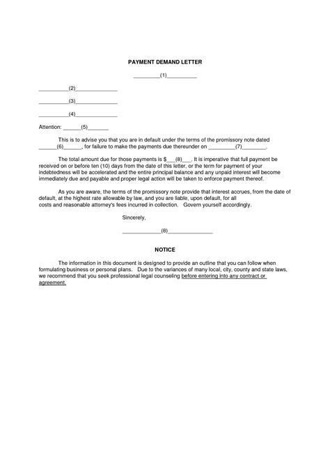 demand  payment letter bravebtr