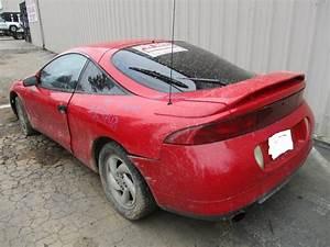 1995 MITSUBISHI ECLIPSE GS-T RED 2 0L TURBO AT 163748