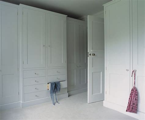 Dressing Room Cupboards by Plain Bespoke Dressing Room Fiona