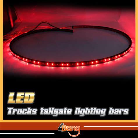 60 car tailgate white white led light bar for