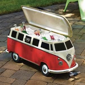 VW Bus Drink Cooler -Craziest Gadgets