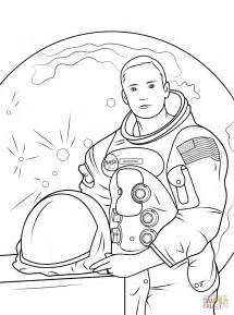 Neil Armstrong coloring page | Free Printable Coloring Pages