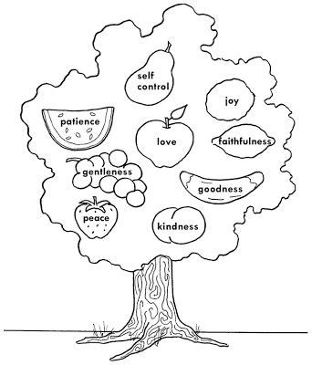 fruit   spirit worksheets  adults coloringsnet