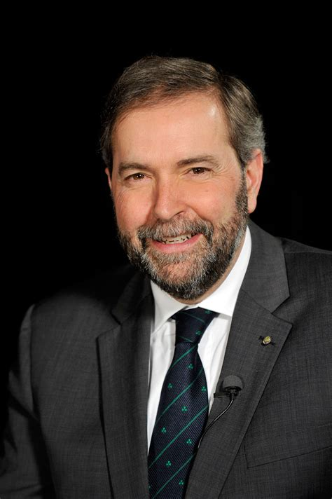 tom mulcair ndp leader