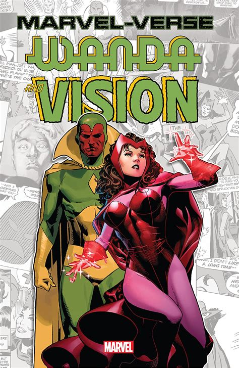 Marvel-Verse: Wanda & Vision (Trade Paperback) | Comic ...